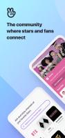 V – Live Broadcasting App Screen