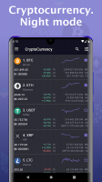Bitcoin price - Cryptocurrency widget Screen