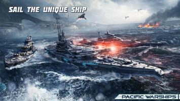 Pacific Warships: World of Naval PvP Warfare Screen