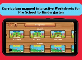 Educational Worksheets for Pre School, Pre k and K Screen