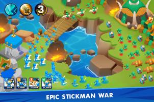Clash of Stickman Screen