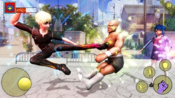 Super Hero High School - Life School Bully Game Screen