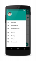 Plus Messenger Screen